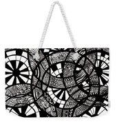 Doodle Circular  Weekender Tote Bag