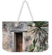 Door In Spanish Mission Building Weekender Tote Bag