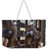 Door To Death Row Weekender Tote Bag
