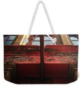 Door Top In Philadelphia Weekender Tote Bag by Katie Cupcakes