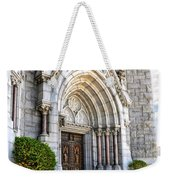 Doorway Sacred Heart Cathedral Weekender Tote Bag
