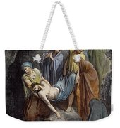 Burial Of Jesus Weekender Tote Bag