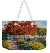 Dotti's Garden Autumn Weekender Tote Bag