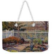 Dotti's Garden Winter Weekender Tote Bag