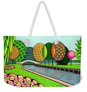 Doty Park Fluorescent Weekender Tote Bag