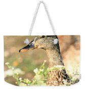 Double Duck Weekender Tote Bag