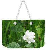 Double Jasmine In Bloom Weekender Tote Bag