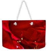 Double Red Weekender Tote Bag