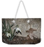 Double Snowdrops Weekender Tote Bag