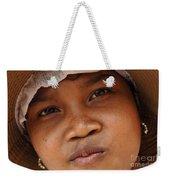 Cambodian Girl Weekender Tote Bag