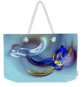 Dove Or Witch - Fight In Soul Of Woman Weekender Tote Bag