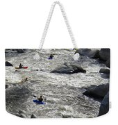 Down The Feather River Weekender Tote Bag