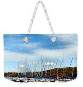 Down To The Docks Weekender Tote Bag