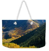 Downhill Flow Weekender Tote Bag