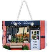 Downtown Beauty Lounge Weekender Tote Bag