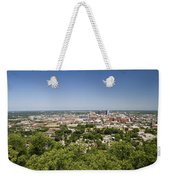Downtown Birmingham Alabama On A Clear Day Weekender Tote Bag