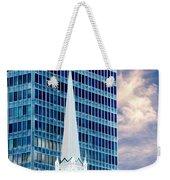 Downtown Blues Weekender Tote Bag