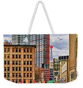 Downtown Hdr Weekender Tote Bag