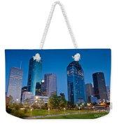 Downtown Houston Weekender Tote Bag