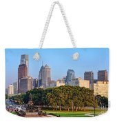 Downtown Philadelphia Skyline Weekender Tote Bag