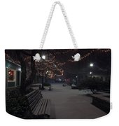 Downtown Winter Weekender Tote Bag