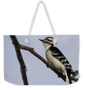 Downy Woodpecker Weekender Tote Bag