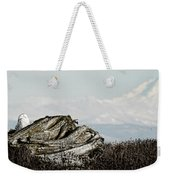 Dozing With Mount Baker Weekender Tote Bag