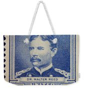 Dr Walter Reed Postage Stamp Weekender Tote Bag