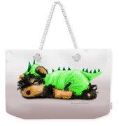 Dragon Baby Yorkie Weekender Tote Bag