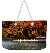 Dragon Boat On The Schuylkill Weekender Tote Bag