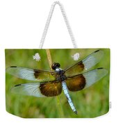 Dragon Fly Grass Weekender Tote Bag