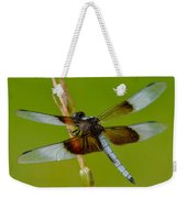 Dragon Fly Green Weekender Tote Bag