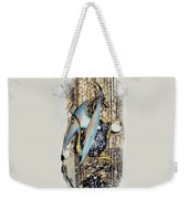 Dragon Reflexions And Repetition Weekender Tote Bag