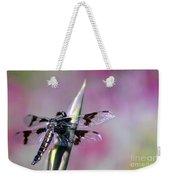 Dragonfly Bokeh Weekender Tote Bag