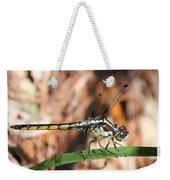 Dragonfly Closeup Weekender Tote Bag