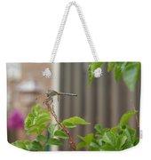 Dragonfly In Nature Weekender Tote Bag