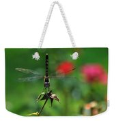 Dragonfly Summer Weekender Tote Bag