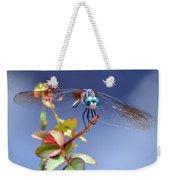 Dragonfly Visit Weekender Tote Bag
