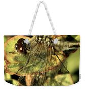 Dragonfly Wingspan Weekender Tote Bag