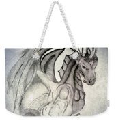 Dragonheart - Bw Weekender Tote Bag