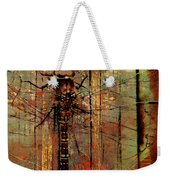 Dragons Wall  Weekender Tote Bag by Empty Wall