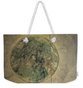 Drain Cover In Cement Weekender Tote Bag