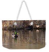 Drake In The Pond Weekender Tote Bag
