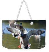 Dramatic Ducks Weekender Tote Bag