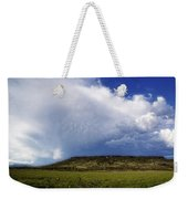 Dramatic Storm Over Table Rock Weekender Tote Bag