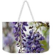 Draping Lavender Purple Wisteria Vines Weekender Tote Bag