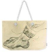 Drawing Class. Feet Weekender Tote Bag