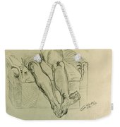 Drawing Class. Legs And Feet Weekender Tote Bag