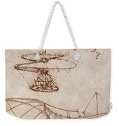 Drawings By Leonardo Divinci Weekender Tote Bag