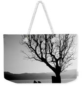 Dreaming In Front Of The Lake Weekender Tote Bag